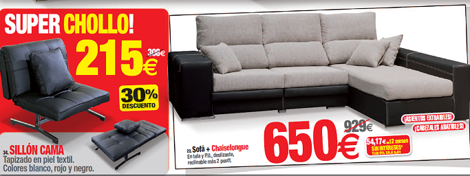 Sof chaiselongue o sill n cama for Sofas buenos y comodos