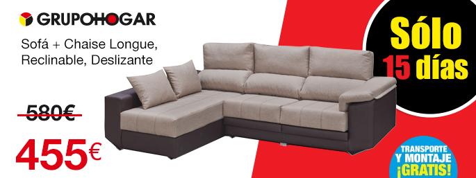 Sofas chaise longue baratos almeria sofa menzilperde net for Precios de sofas baratos